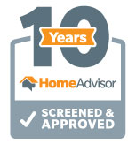 10 years with Homeadvisor